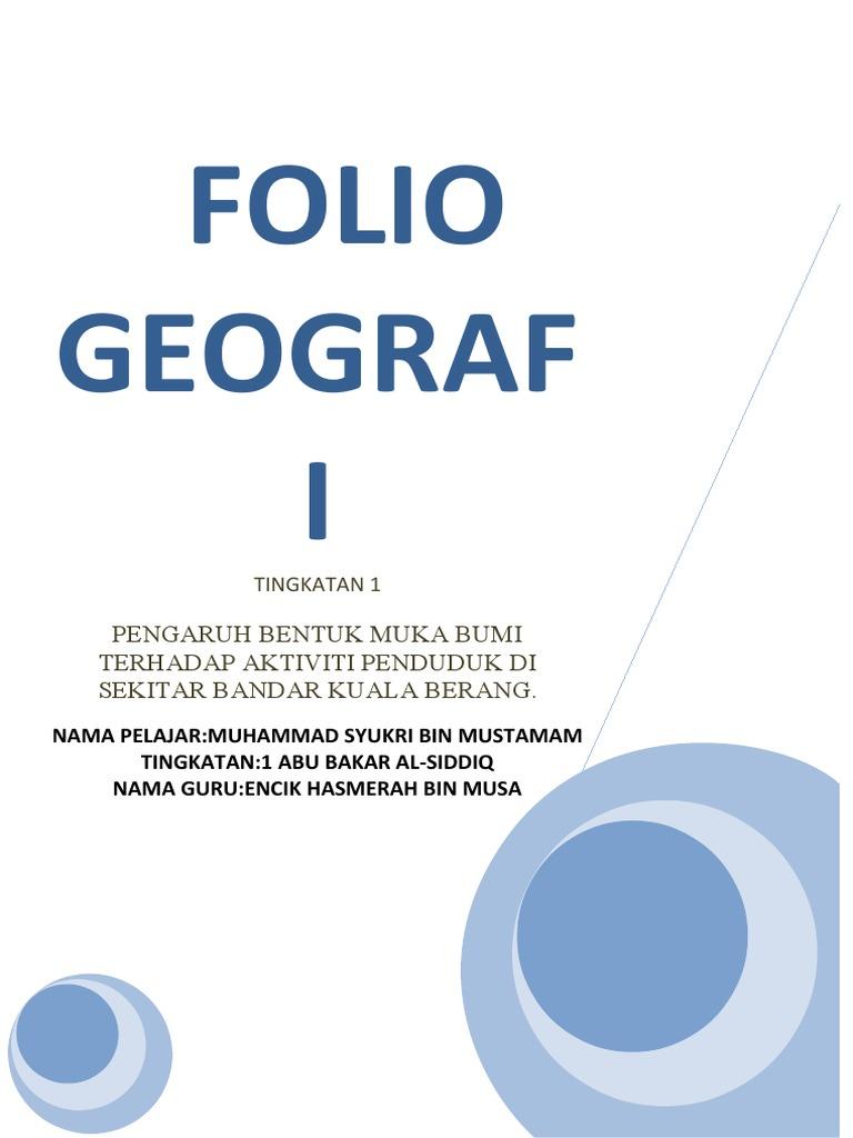 Geografi Tingkatan 1