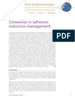 Consensus in Adhesion 2004