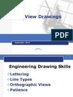 Kuliah 3 Multi View Drawing- Proyeksi Orthogonal
