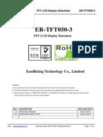 ER TFT050 3 Datasheet