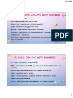 Unit 1 - Dealing With Numbers