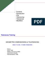 Geometrical Tolerance