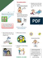 Edit Leaflet Pencegahan Infeksi