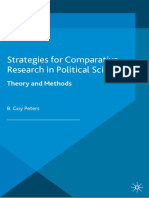 [Political Analysis] B. Guy Peters - Strategies for Comparative Research in Political Science (2013, Palgrave) (1)