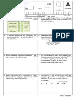 Examen Mensual de RM II Trimestre 2018 - PRE