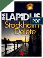 Jens Lapidus - Stockholm Delete (v.1.0)