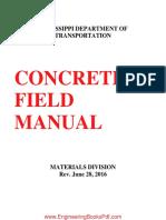 Concrete Field Manual