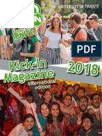 Kick-In Magazine 2018 - International Edition
