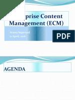 Enterprise Content Management (ECM) Presentation