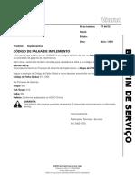 BS 64_15 - Cdigo de Falha de Implemento