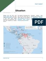 Migración venezolana desborda procedimientos para refugiados, revela informe Acnur de junio