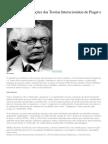 Síntese Das Concepções Das Teorias Interacionistas de Piaget e de Vigotsky