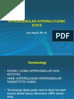 2. Hyperosmolar Hyperglycemic State