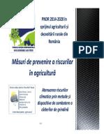 Prezentare Măsuri de prevenire a riscurilor în agricultură Indagra 2017