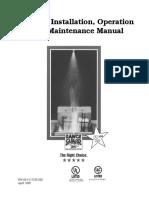 Badger RG DIOM Manual 60-9127100-000 Rev BD