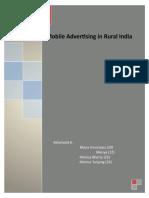 Kasus Mobile Advertising in Rural India