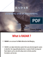 RADAR Jamming and Anti-Jamming