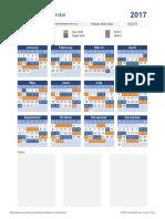 Shift Work Calendar