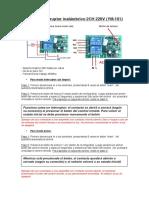 Manual Interruptor 2 Canales YM-101