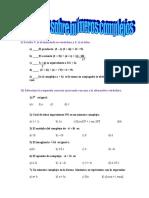 Ejercicio Sobre Números Complejos (1) Gelabert