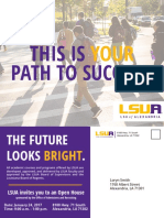 lsua open house