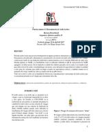 Practica Numero 5 Determinacion de Acido