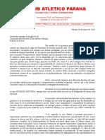 Los motivos de la renuncia de José Cáceres