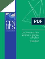 Renaud C Una Propuesta Para Abordar La Gestion Compleja