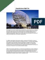 Arquitectura High Tech Concepto