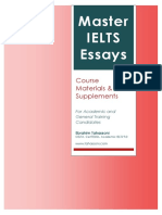 Master IELTS Essays