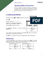 00 Introducción a Las Gráficas de Funciones Con Calculadora Gráfica