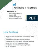 Mobile Advertising in Rural India
