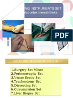 250025782 Suturing Instrument Set