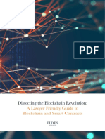 Dissecting the Blockchain Revolution - A Lawyer Friendly Guide to Blockchain and Smart Contracts