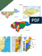 Mapas de Centroamerica