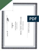 Certificado de Informatica