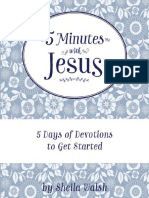 5 Minutes With Jesus Quiet Time Devotions