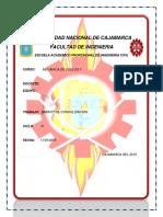 1 Informe Consolidacion Suelos II