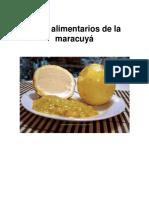 Usos Alimentarios de La Maracuyá