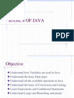 Ch 04 Basics of Java
