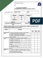 EV. de DESEMP.lineA de T. Desarrollo Cientifico