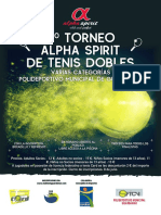 Poster Tenis 2018