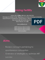 Optimizing Fertility