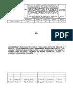 Cons-ci-pro-002 Rev a Procedimiento Para Construccion de Fundaciones de Patios