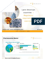 Latin American Countries Regulatory Requirements 30092011