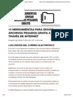10 herramientas para enviar archivos pesados gratis a través de internet - miguelangeltrabado.es