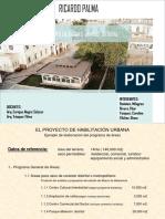 Programa Diseño Urbano