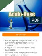 Ácidos y Bases Clase 1