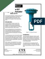 657 Actuator