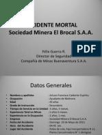 Acc Mortal N 1 El Brocal-Resumen